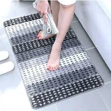 long thin bath mat rug narrow bathroom rugs home models furniture engaging popular of ultra with