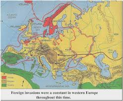 marko marelic charlemagne revives the idea of empire charlemagne invasions jpg 47344 bytes