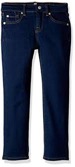 7 For All Mankind Kids Baby Girls Skinny Jeans In Rinsed