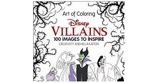 Small Picture New Disney Villains Art of Coloring100 Images to Inspire Creativity