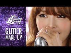 pony s beauty diary le glitter make up with english subs