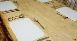 premium glass placemat place mats 4 set dining
