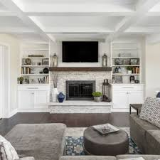 Ideas in furniture Balcony Family Room Large Transitional Open Concept Dark Wood Floor And Brown Floor Family Room Idea Decoist 75 Most Popular Large Family Room Design Ideas For 2019 Stylish