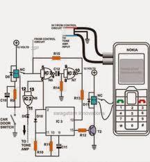 cell phone call alert security system circuit electronic circuit Alarm Panel Circuit Diagram cell phone call alert security system circuit electronic circuit projects wireless alarm system circuit diagram