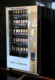 Champagne Vending Machine New Champagne Vending Machine In Las Vegas Is Only One Of Its Kind In