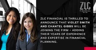 Welcome Violet Smith & Chantel Gibbs - ZLC Financial
