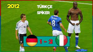 Almanya 1-2 İtalya   Türkçe Spiker - EURO 2012 Yarı Final - YouTube