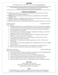 Business Sample Resume Business Objects Resume Sample Resume For