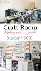 home office craft room ideas. Simple Craft Craft Room Makeover Reveal So Many DIY Storage Options On The Wall And  Everything In Throughout Home Office Ideas