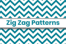 These were designed as page edges but would work well as smaller decorative elements too. Zigzag Patterns Graphic By Masyafi Creative Studio Creative Fabrica In 2020 Zig Zag Pattern Mandala Art Pattern