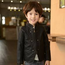 details about spring fall baby boys casual black coat kids zipper synthetic leather jackets