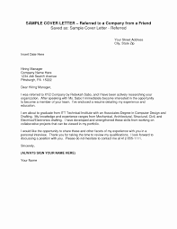 Cover Letter With Referral From Mutual Acquaintance Cover Letters
