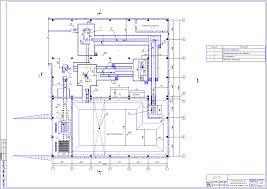 Курсовой проект Массозаготовительный цех завода по производству  Чертеж массозаготовительного цеха завода по производству керамического кирпича План цеха