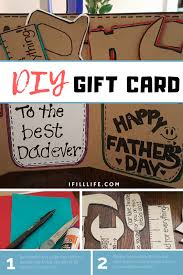 diy gift card for father s day