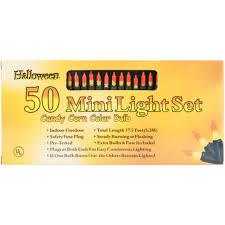 Halloween Candy Corn String Lights Halloween Lights Indoor Outdoor 50 String Candy Corn