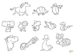 Small Picture Baby Animals coloring page Free Printable Coloring Pages