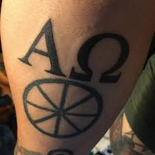 Alpha Omega Tattoo Tony Alter Flickr