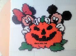 Perler Beads Mickey Mouse Designs Mickey Minnie Halloween Hama Beads Cross Stitch By