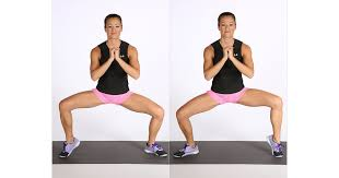 Move 1: Sumo Squat With Calf Raises   Strengthen and Stretch! The 12 Moves  All Runners Need to Do   POPSUGAR Fitness Photo 2