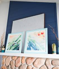 diy wood frame for oversized poster print 1 of 1