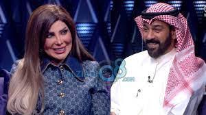 لقاء الفنانة إلهام الفضالة و الفنان شهاب جوهر في برنامج (ليالي الكويت) عن  مسلسل أمينة حاف - YouTube