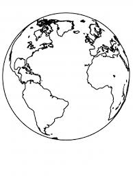 Choose your favorite coloring page and color it in bright colors. Earth Coloring Sheet