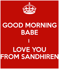 I Love You Baby Quotes Simple Good Morning I Love You Baby Quotes I Love You Babe Quotes