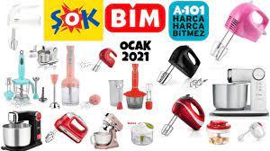 Bim Şok A101 1 Ocak 2021 Aktüel Ürünleri   Mutfak Ürünleri   Bim Mutfak  Şefi & Blender Seti