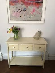 small distressed painted homesense sideboard buffet