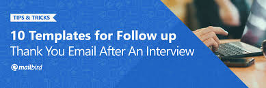 10 Thank You Email Samples To Wow Your Interviewers Mailbird