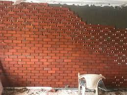 ceramic pack red brick tiles size