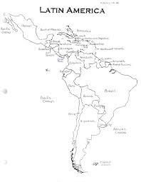 Blank Map Of Latin America Quiz Likeat Me