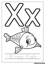 You can use these free x ray printable coloring pages for your websites, documents or presentations. Pin By Englishforkidz On Teaching English To Kids Fish Coloring Page Alphabet Coloring Pages Alphabet Coloring
