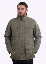 raven winter jacket green