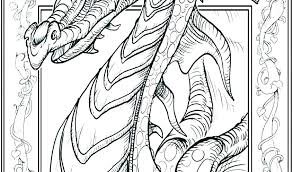 Coloring Pages Dragons Dragon Color Sheet Cute Dragon Coloring Pages