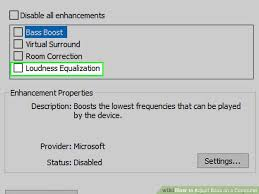 Windows 10 Bass 3 Ways To Adjust Bass On A Computer Wikihow