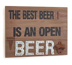 product details the best beer rustic wood wall hanging