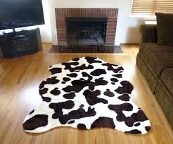 faux cow skin rugs medium size of hilarious super faux cow hide rug from in animal