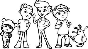 Small Picture Pbs Kids Ready Jet Go Coloring Page Wecoloringpage