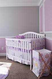 ... Gray and purple nursery idea that is gender neutral [Design: Interior  Concepts Design House