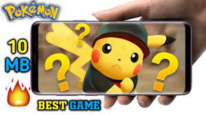 10MB]Best Ever Seen Offline Pokémon Game For Android - King Of Game - King  Of Game