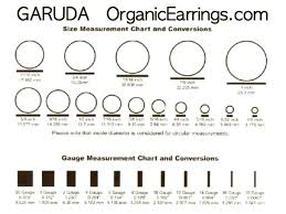 Body Jewelry Measurement Chart Image 0 Size 12 Gauges Mystery Box Pairs Of Ear All