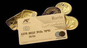 Gold Card Office Britains Royal Mint Introduces 18 Carat Solid Gold Debit