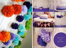 Tissue Balls Party Decorations 100 100 100cm Tissue Paper Pom Poms Flower Balls Wedding Party 61