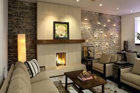stone wall living room stone wall tile living room contemporary with accent botanical stone wall cladding