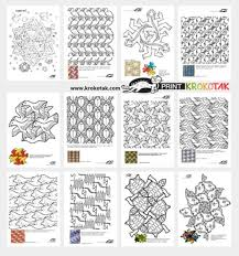 They're too repetitive and i can't really express my mind onto it. 10 Fun Tessellation Projects For Kids To Play And Learn
