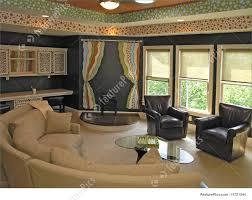 Living room: Luxury House with regal elegant den room
