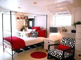 bedroom ideas for teenage girls red. Modren Teenage Red White And Black Room Ideas For Teenage Girls  Bedroom Photo 3 Decor To