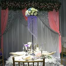 110cm Wedding luxury acrylic crystal wedding road lead table center pieces  event party decoration/ wedding backdrop T stand-in Party DIY Decorations  from ...