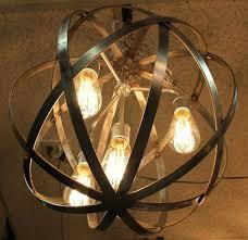 chandelier globe chandeliers sphere orb chandelier font chandelier font lighting lamps metal orb ceiling chandelier metal orb chandelier world market